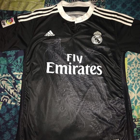 meet 58318 4f6e7 Adidas Real Madrid Yohji Yamomoto Y3 Dragon Jersey